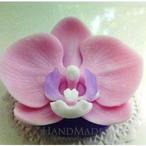 "Handmade organic soap ""Orchid"""