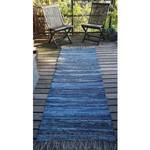 Handmade outdoor runner rug