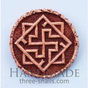 Handmade Pottery Magnet «Valkyrie»