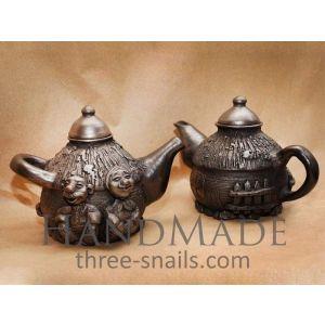 Handmade Pottery Teapot