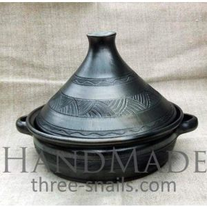 Handmade Tagine. Dishes for meat cooking
