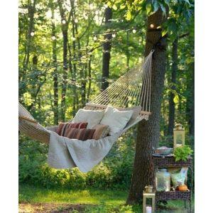 Handmade tree hammock
