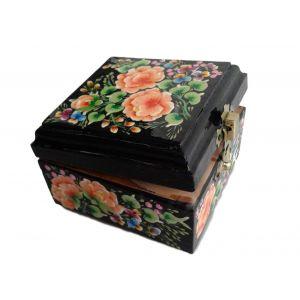 "Handmade wooden box ""Spring flowers"""