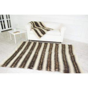 "Handmade wool rug ""Paths"""