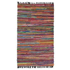 Handwoven runner rug