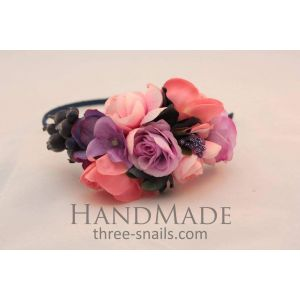 Head accessories «Currant blossom»