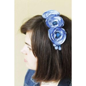 "Headband for women ""Blue moment"""