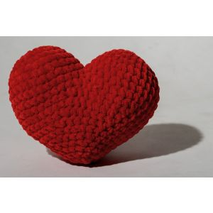 Small crochet heart