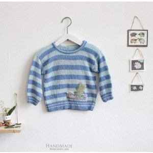 "Infant sweatshirts ""Blue stripes"""