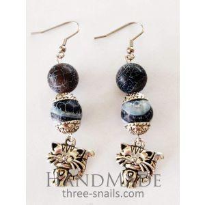 Jewelry beads set «Kitten»