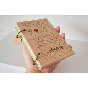 """Journal notebook """"Hearts"""""""