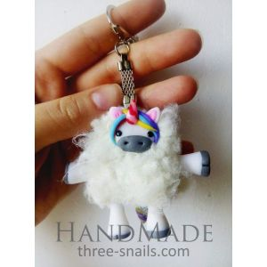 "Key chain rings ""Unicorn"""