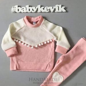 Kid girl set sweatshirt and pants