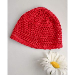"Kids crochet hats ""Little Red Riding Hood"""
