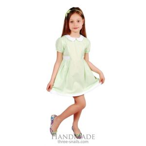 "Kids dress clothes ""Green charm"""