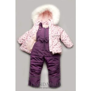 Kids girls winter snow suit