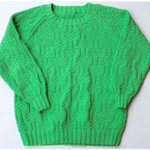 Kids green sweater