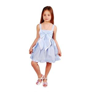 "Kids party dress ""Heavenly tenderness"""