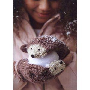 Kids woolen mittens