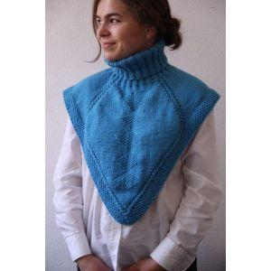 Knitted neckwarmer for women