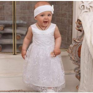 Lace baby girl dress
