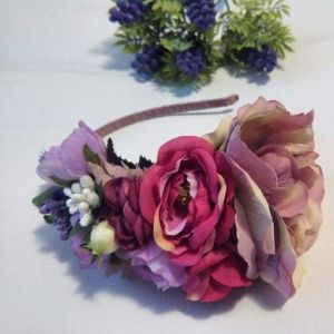 Ladies headbands «David Austin Roses»