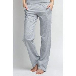 Lady clothing. Pajama cotton pants