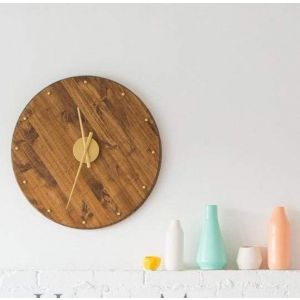 Large round wall clock
