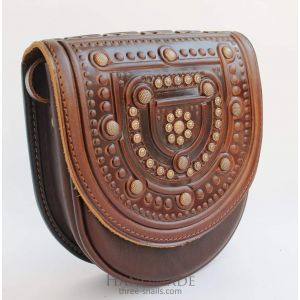 "Leather bags for women ""Browny"""