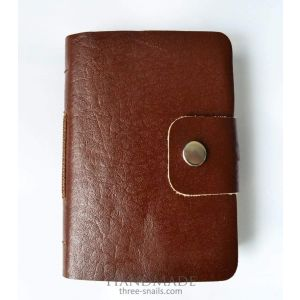 "Leather notebook handmade ""Antique"""