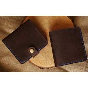 "Leather wallet ""Alabama"""