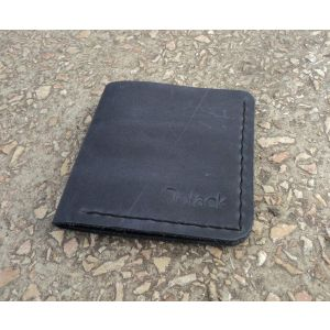"Leather wallet ""Cosmopolitan"""