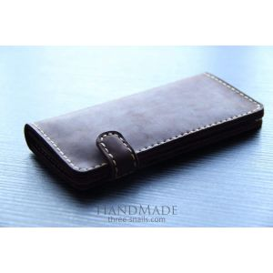 "Leather wallet ""Hermes"""