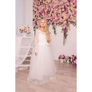"Little girls fancy dresses ""Lace dreams"""