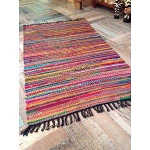 Living room area rug braided