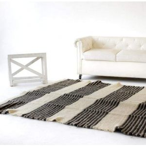 "Living room rug ""Black and white"""