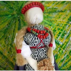 "Lucky talisman motanka doll ""Lady luck"""