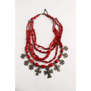 """Luxury Ukrainian necklace """"Panna"""""""