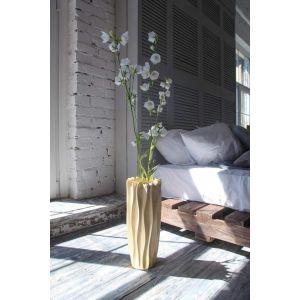 Mango wood elegant vase