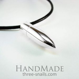 Mens bullet necklace «Bullet»