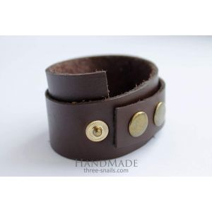 "Mens leather bracelet ""Warrior"""