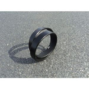 "Mens leather cuff bracelets ""Exclusive"""