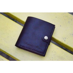 "Mens leather wallet ""Black Crow"""