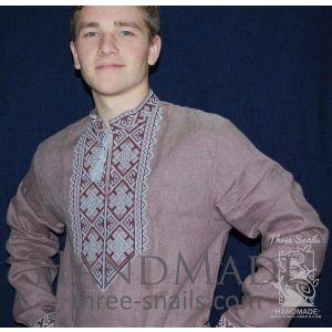 "Mens linen shirt ""Kotyhoroshko"""