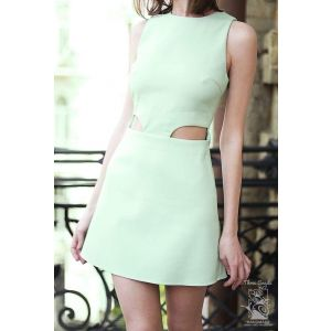 "Mint dress ""Peppermint ice"""