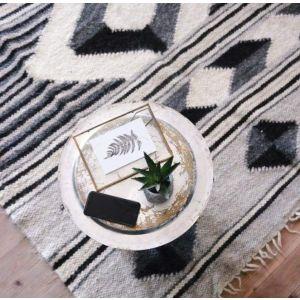"Modern area rug ""Shades of Scandinavian style"""