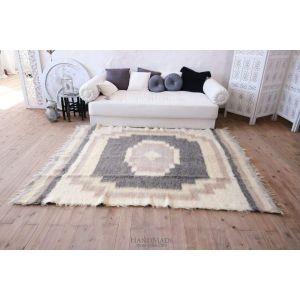 "Modern bedroom rug ""Cappuccino"""