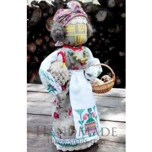 Motanka-doll «Hostess with a chicken»
