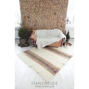 "Natural fiber rug ""Stripes"""