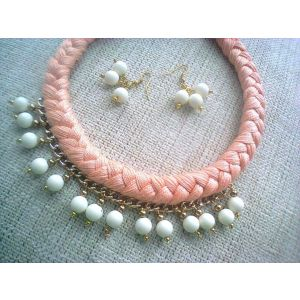 "Necklaces and earrings sets ""Pearl"""